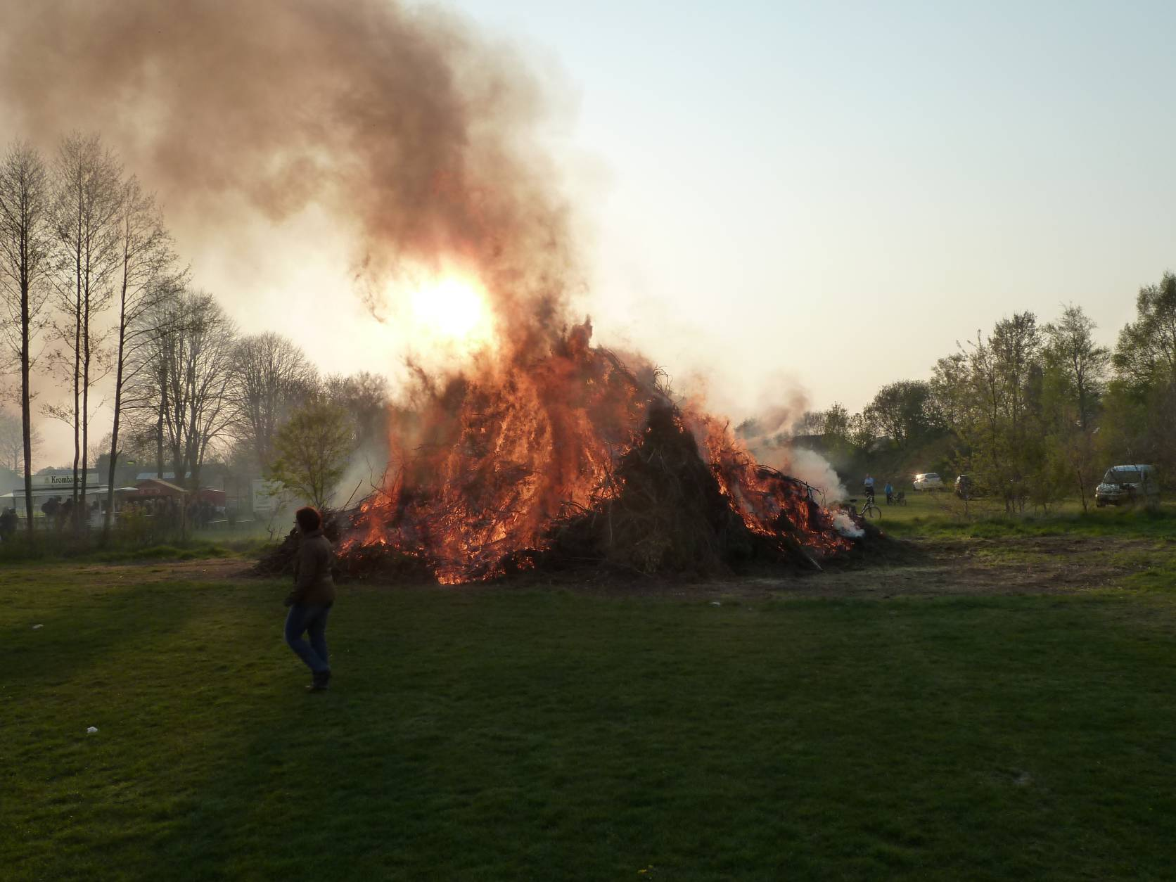 Stern - Osterfeuer